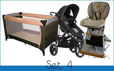 Kinder-Reisebett Set4